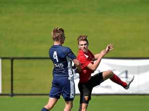 Fire takes on Olympic at Sunshine Coast Stadium