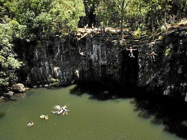 Two people have died at Dalwood Falls, Ballina.