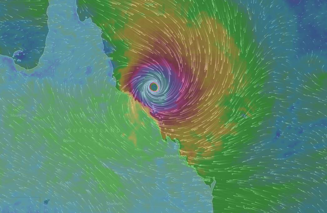 Tropical Cyclone Debbie - WindyTv