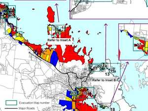 How to check Cyclone Debbie's evacuation zones