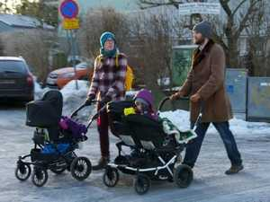 """It's changed the culture,"" say the Latte Papas of Sweden's generous parental leave provisions."