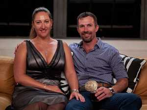 Susan and Sean in a scene from the TV series Married At First Sight.