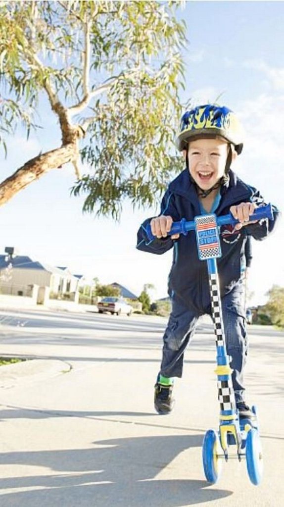 CHILDHOOD FREEDOM: Young Jack, 5, is now functioninglike any other child his age thanks to the NDIS. Photo: contributed
