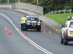 Woman dies in hospital after crash on bridge
