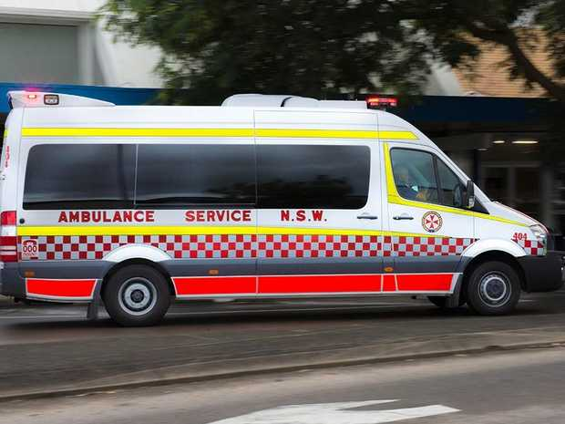 Emergency services have been called to a two-vehicle crash near Chinderah.