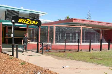 Buzers owner David Denny said heavy renovation work had gone in to make the motel open to the public. Beautifying the outside is a vital step to the motel reaching its potential.