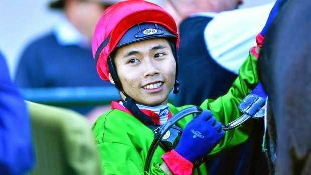 Hong Kong apprentice jockey Matthew Poon. Picture: Mark Brake