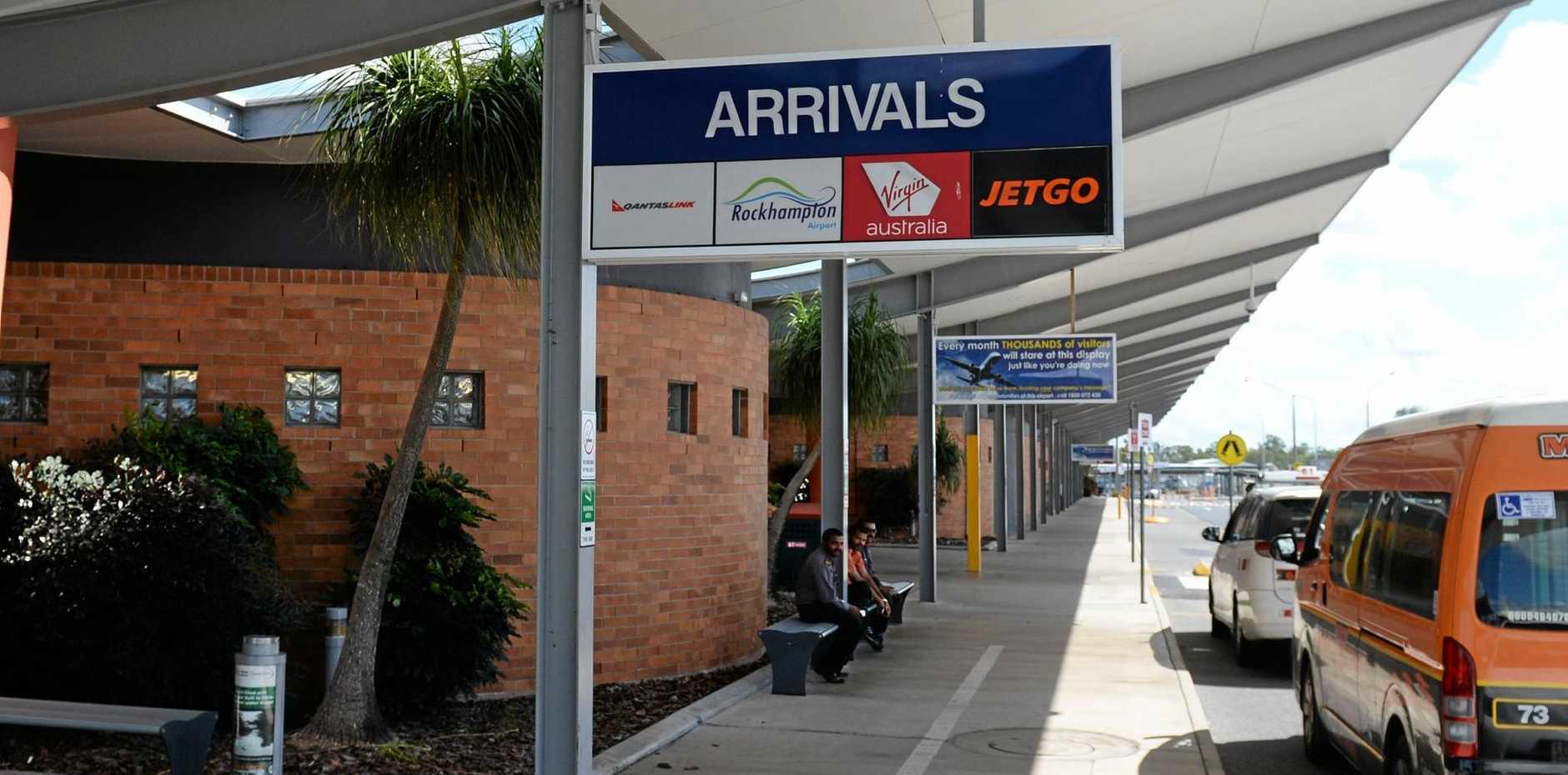 Generic Rockhampton Airport.   Photo: Chris Ison / The Morning Bulletin