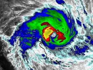 Watch: Cyclone Debbie lashes Whitsundays
