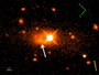 Quasar kicked out of its own galaxy in enormous event