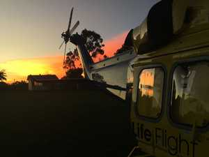 Woman in 30s airlifted for heart condition