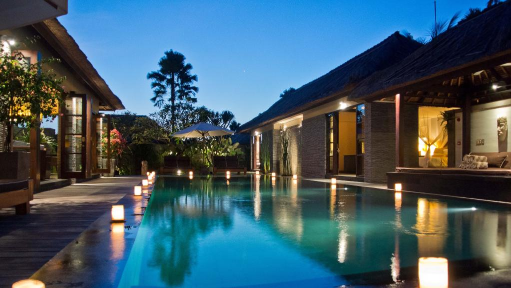 An Australian woman has died at a luxury villa at Peppers Seminyak. Picture: File/Supplied