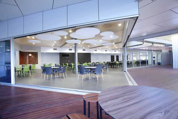 Ergon Energy Amenities Block Which Has Been Nominated For A Major Architecture Award