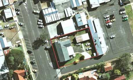 Photos submitted to Toowoomba Regional Council as part of the designs for the laundromat and units in Pittsworth.