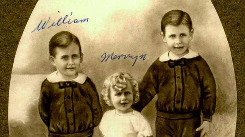 TRAGEDY: In 1928 the Bundaberg family, the Robinson's lost all three of their sons due to an refrigerated vaccine.