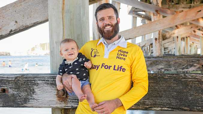 PROUD PARTICIPANT: Cancer survivor Tim Richmond will take part in Coffs Coast Relay for Life 2017.