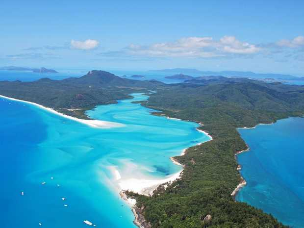 The beautiful Whitsundays.