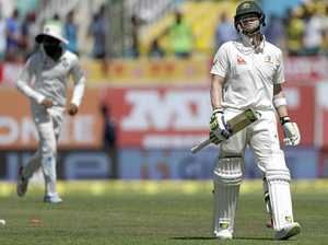 Battling Aussies on verge of defeat