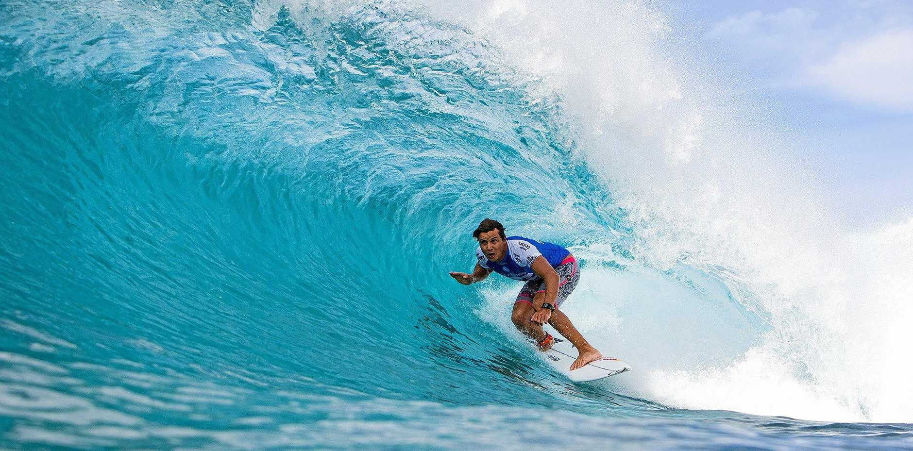 CONTENDER: Peregian Beach's Julian Wilson is expected to be among the threats at Margaret River.