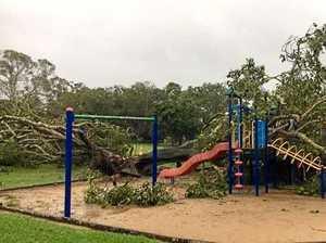 GALLERY: Destruction as Cyclone Debbie roars through