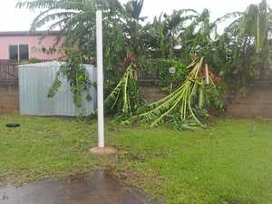 Cyclone Debbie starts hitting Mackay region