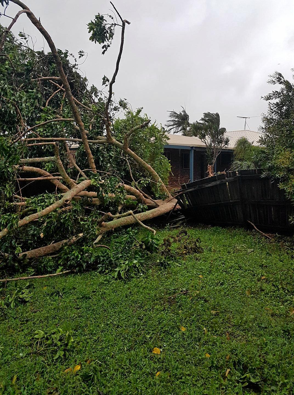 Cyclone Debbie is ravaging the Mackay region