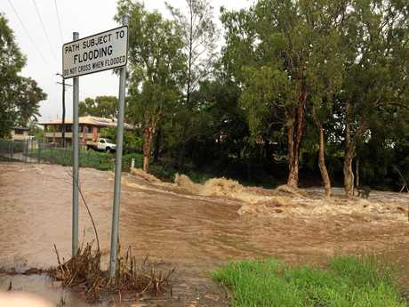 Rockhampton prepares for more wild weather as edges of Cyclone Debbie bear down on the city.