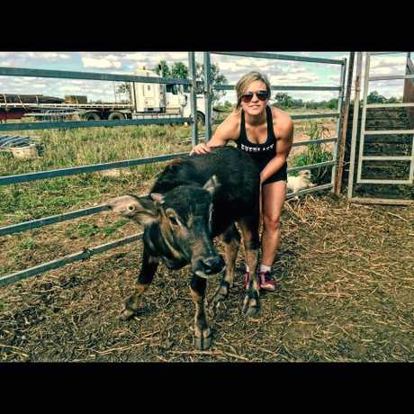 Dakota Brandenburg describes her family's rough stock as her