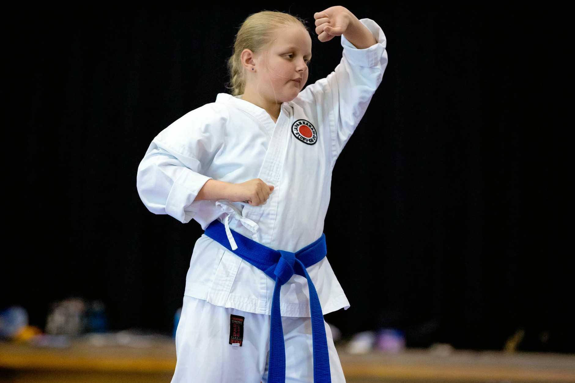 Karate Hayley Parkhill Widgee