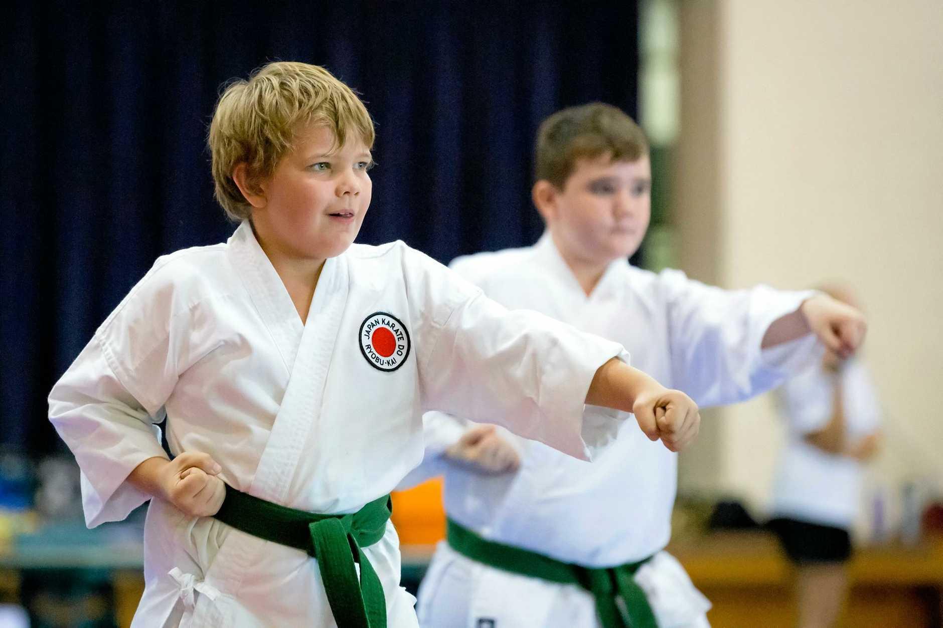Karate Ashton Brown Gympie