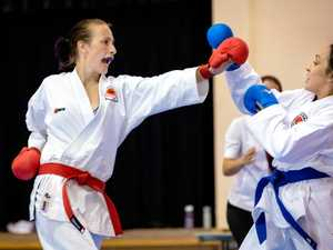 Hard hits and highlights in Gympie karate titles