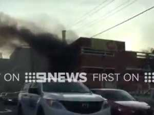 XXXX beer brewery in Milton catches fire