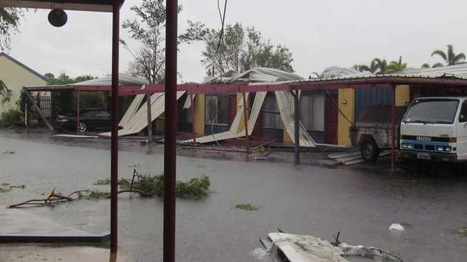 Proserpine Motor Lodge was hard hit by Cyclone Debbie.