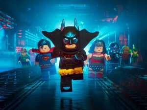 A scene from the movie The Lego Batman Movie.