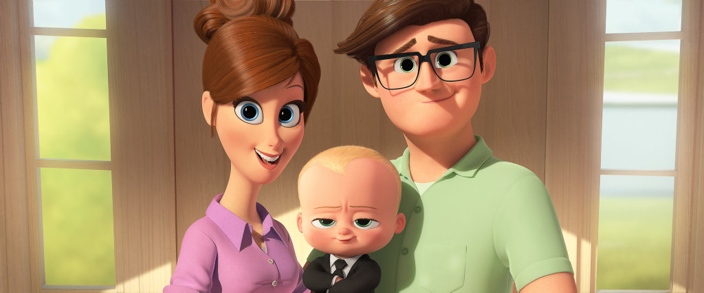A scene from the movie The Boss Baby.