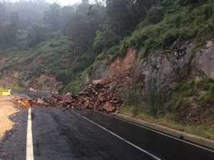 Changed traffic conditions on Gwydir Highway