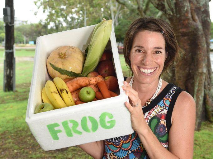 Frog - Fraser Coast Organic Goodness, Celine Louie.