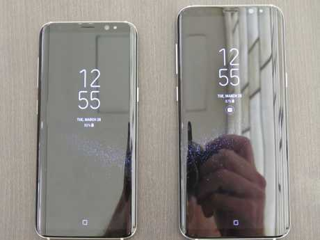 Samsung Galaxy S8 and S8+ launch in New York on March 29, 2017.