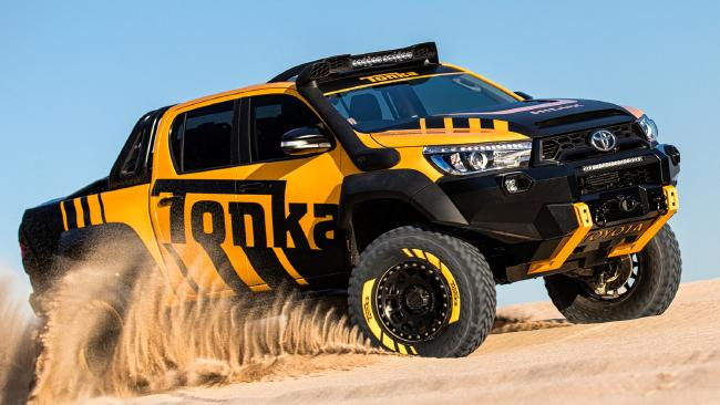 Toyota has unveiled a HiLux Tonka concept, as figures show more than half of ute sales are of the most expensive versions. Picture: Supplied