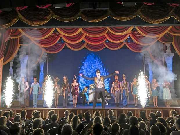 LUXURY CRUISING: The Emerald Princess' fabulous magic show.