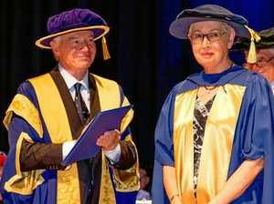 Dr Dowell leads graduates