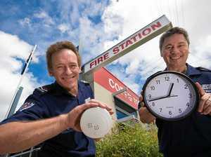 Change your clocks and check your smoke alarms