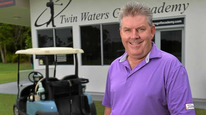 GENERAL MANAGER: Stephen Hutchinson recently won an industry award. It follows Twin Waters installing state-of-the-art GPS tracking and rangefinding systems in its golf carts.