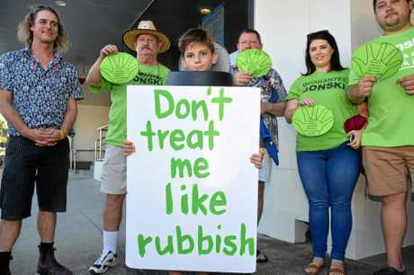 Supporters both young and old rallied in Coffs Harbour on Tuesday in a bid to persuade the Federal Government to continue Gonski funding.