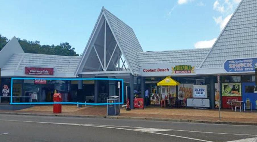 The Coolum Markets Shopping Centre which may be demolished for a service station.