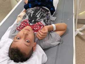 Funds flow for nurse's sick son