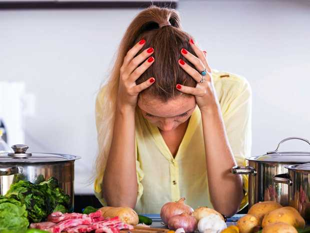 LOOK AT YOUR DIET: What you eat can affect your energy levels.