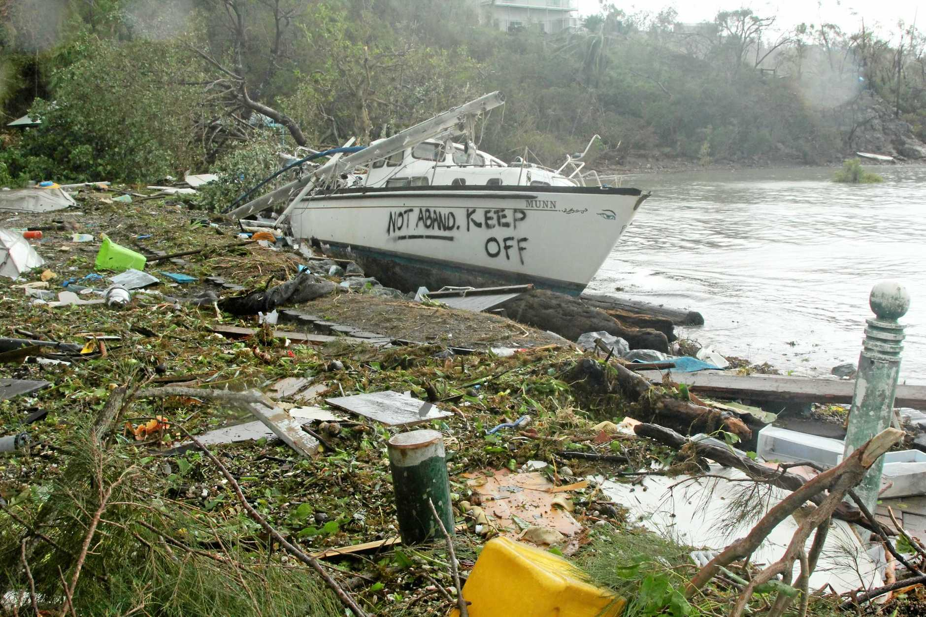 Cyclone Debbie: the aftermath, Wednesday March 29.