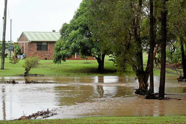 WET WEDNESDAY: Heavy rain thanks to Cyclone Debbie caused flash flooding across the Bundaberg region on March 29, 2017.