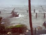 Daydream Island wharf destroyed during Cyclone Debbie